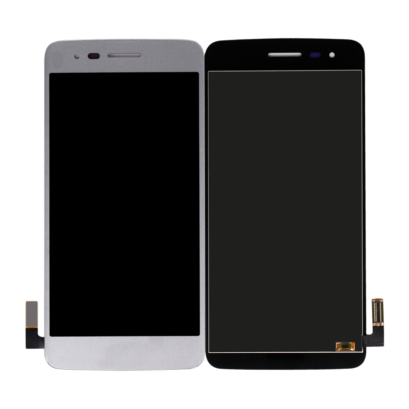 Black Color : Silver YANGJIAN LCD Screen and Digitizer Full Assembly for LG K8 2017 US215 M210 M200N