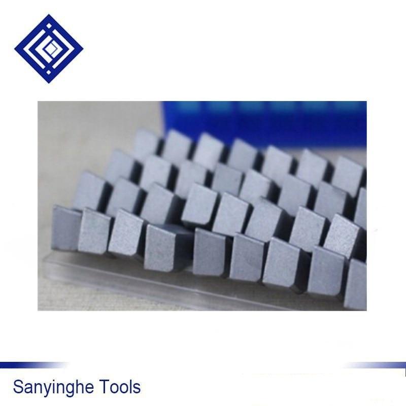 YG6 A315Z Brazed Carbide Turning Tool Finish Turning Inserts Sanyinghe (40pcs/lots)