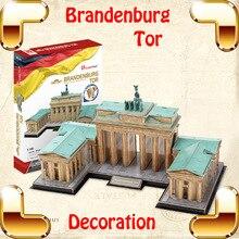Новогодний подарок brandenberg Tor 3D Пазлы Модель DIY украшения сборки игрушки игра головоломка для взрослых Коллекция развивающая игрушка
