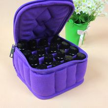 Pro 30 Bottles Essential Oil Carrying Case for 5ML10ML 15ML Essential Oils Makeup Bag for Traveling Sturdy Double Zipper