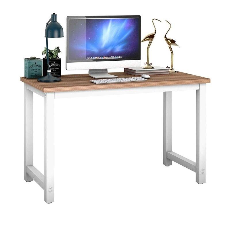 Bureau d'ordinateur portable à la maison Table meubles de bureau poste de travail bureau d'ordinateur en bois HW53853
