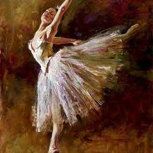 Рисунок Art балерина Эдгара Дега Картины воспроизведение маслом на холсте ручной работы высокого качества