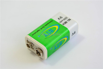 120pcs/Lot Original BTY 9V 300mAh Ni-MH Rechargeable Battery Size:50(L)*27(W)*18(H)mm