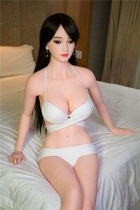 Image 2 - Muñeca de amor n. ° 87B de 165cm, pecho grande exquisito, muñeca sexual de TPE, sexo masculino, vaginal, trasero oral, TPE con esqueleto