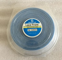 1 roll/Lot 2.54 cm* 36 yards Blue lace front wig tape toupee adhesive tape hair system tape