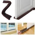 Twin Door Draft Dodger Guard Stopper Energy Saving Protector Dustproof Doorstop Home