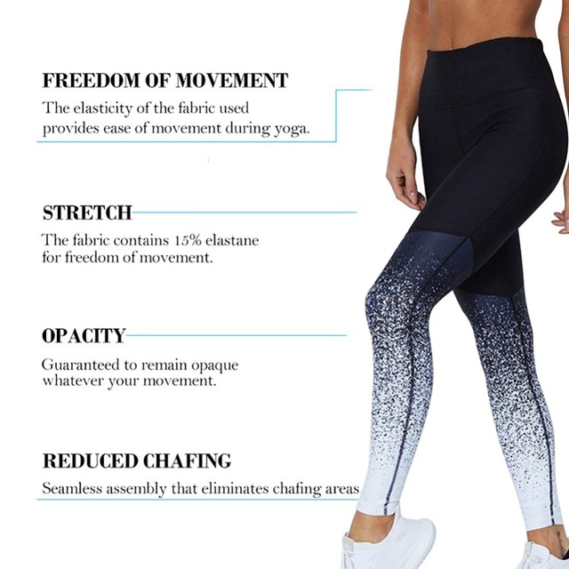 2019 Hot Women Yoga Pants Compression Tights Female Slim Sports Clothing Sport Pants Seamless Leggings Fitness Running Tights 4