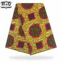 Latest african fabric high quality african batik fabrics 100% cotton guarantee dutch real wax 6 yards/pcs for sewing clothes