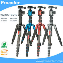 Professional Photographic Portable Lightweight Compact Tripod flexible camera stand Monopod Ball Head for Canon Nikon SLR Camera