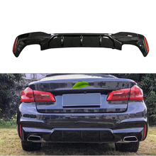 MP Style Real carbon fiber Rear Bumper Lip Protector diffuser 1pair set for BMW G30 G31 G32 5 Series M sport 2017up цены онлайн