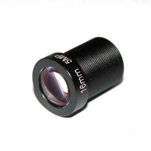 """Image 4 - HD 5mp 16mm objektiv cctv objektiv IR Bord 1/2. 5 """"M12x0.5 view 50 mt für Sicherheit IP kamera"""
