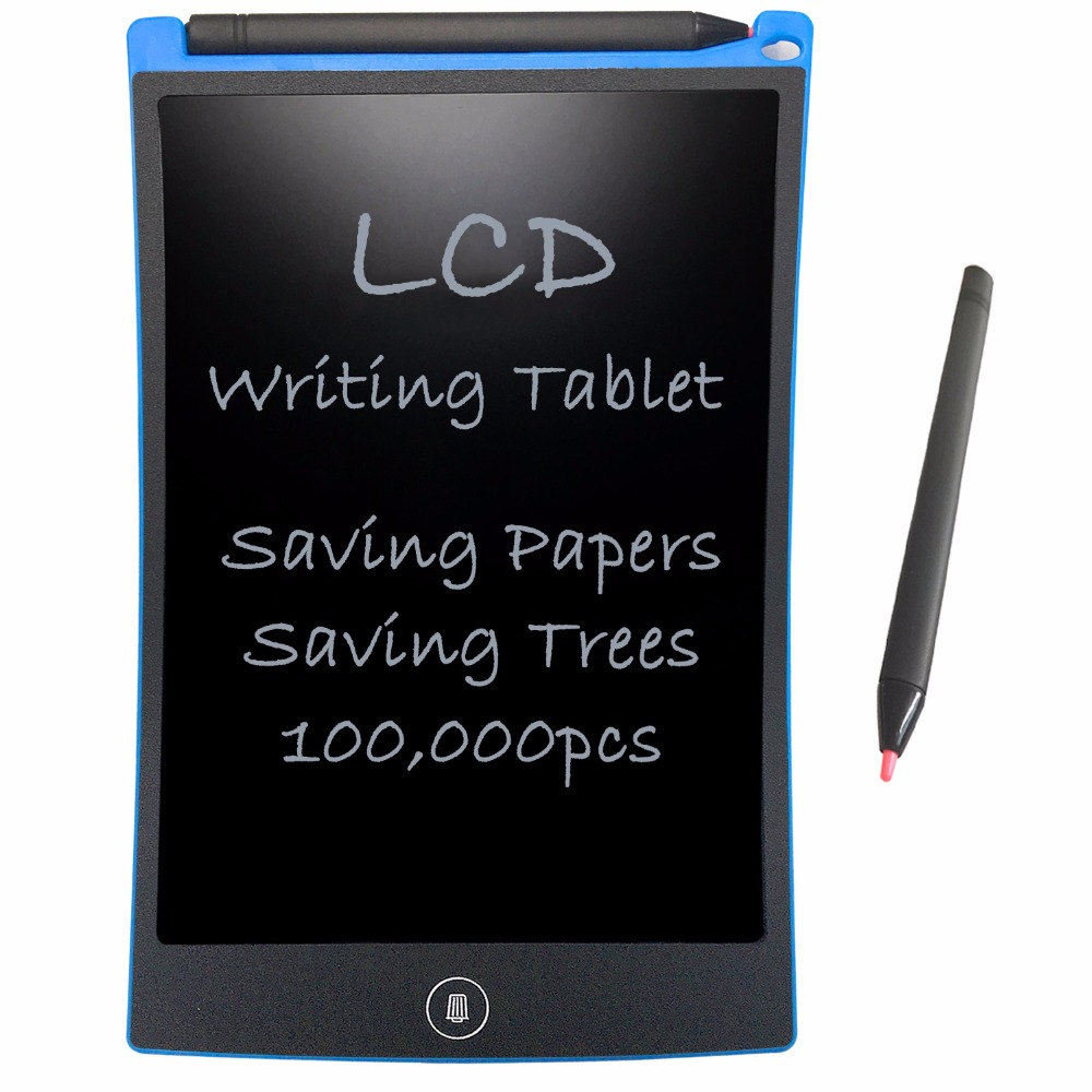 "NEWYES 8.5 ""Electronic eWriter Writing Tablet 드로잉 보드 Paperless Digital Graffiti Table 메모장 재 작성 패드 (파란색)"