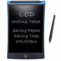 NEWYES 8.5 Electronic eWriter LCD Writing Tablet Drawing Board Paperless Digital Graffiti Tablets Notepad Rewritten Pad(Blue)