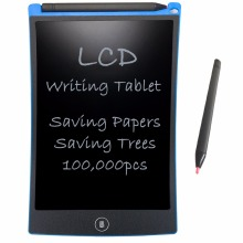 Wholesale NEWYES 8.5″ Electronic eWriter LCD Writing Tablet Drawing Board Paperless Digital Graffiti Tablets Notepad Rewritten Pad(Blue)
