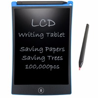 NEWYES 8 5 EWriter LCD Writing Tablet Drawing Board Paperless Digital Tablet Notepad Rewritten Pad Blue