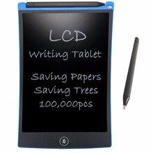 """NEWYES 8.5 """"Elettronico eWriter LCD Tavoletta di Scrittura Tavolo Da Disegno Senza Carta Digitale Graffiti Compresse Notepad Riscritto Pad(Blu)"""