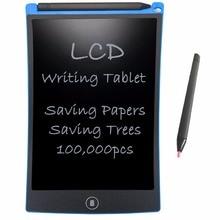 """NEWYES 8.5 """"elektronik eWriter LCD yazma tableti çizim kurulu kağıtsız dijital Graffiti tabletler not defteri yeniden yazılan ped (mavi)"""