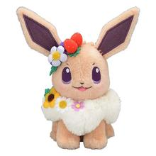 High quality Pikachu Detective Stuffed Eevee Plush Doll Toys Japan Anime Game Dolls toys for Lady Shout