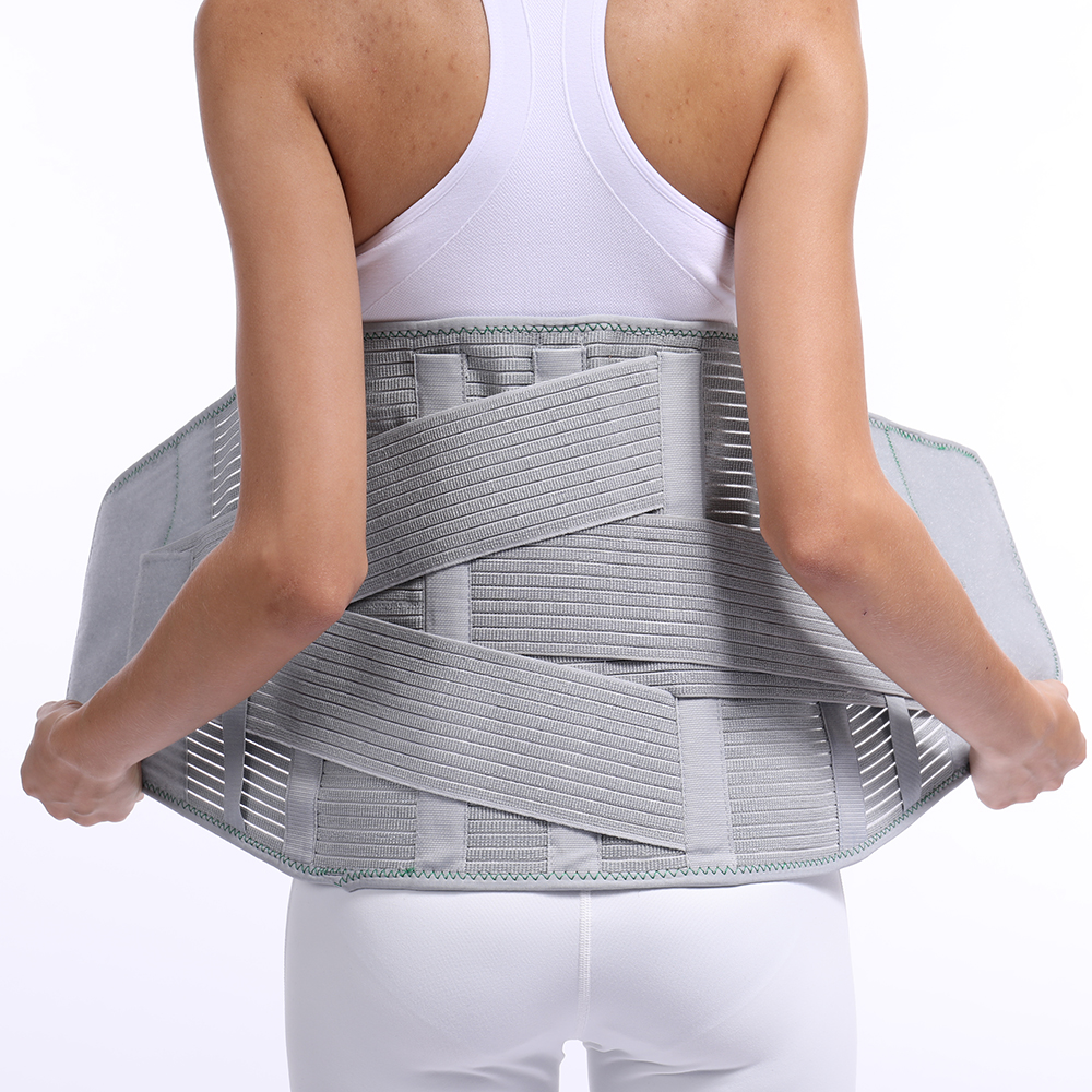 Lumbar Back Spinal Spine Waist Brace Support Belt Corset Stabilizer Cincher Tummy Trimmer Trainer Weight Loss Slimming Belt ems trainer belt simulator back waist muscle simulator electric slimming belt back massage belt acupuncture waist trainer