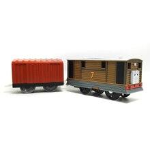 T0192 Тоби Электрический Томас и друг Trackmaster двигатель Моторизованный поезд с Отсеки Chinldren ребенок детей игрушки подарок