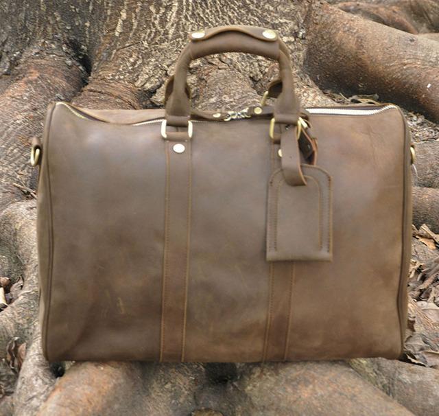 De alta Qualidade! Mens Genuíno couro do couro Real Duffle sacos de Viagem Bagagem Mala saco do Mensageiro Bolsas Bolsas de Ombro 3037