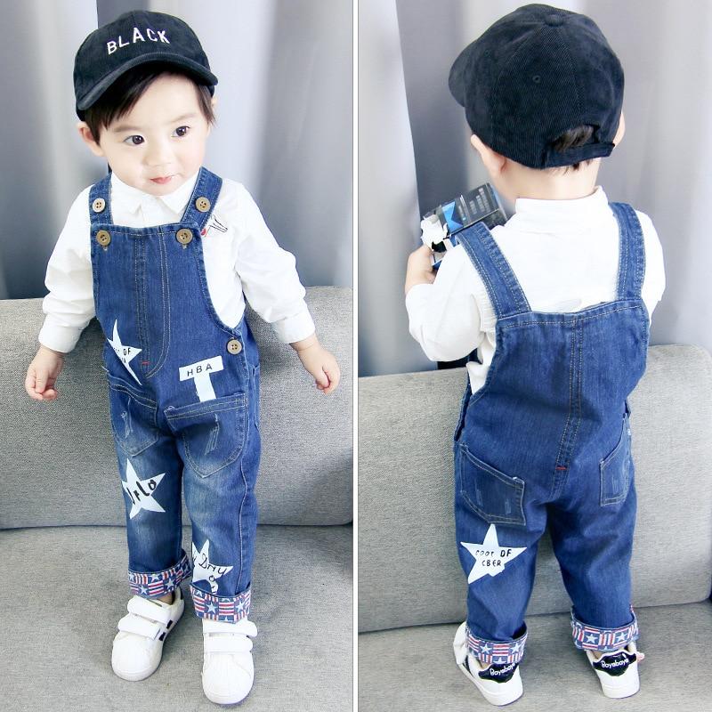 IENENS Baby Boy Clothes Denim Shorts Pants Toddler Infant Jeans Overalls Bottoms