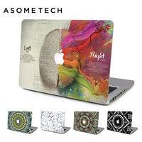 اليسار واليمين الدماغ laptop دفتر ملصقات الجلد ل mac 11.6 12 13.3 15 كمبيوتر ماك بوك الشبكية الهواء 13 برو 15.4 غطاء