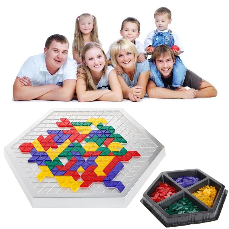 Blokus Hexagonale Version Conseil Jeu Jouet Éducatif Cadeau pour Enfant Enfants Famille W15