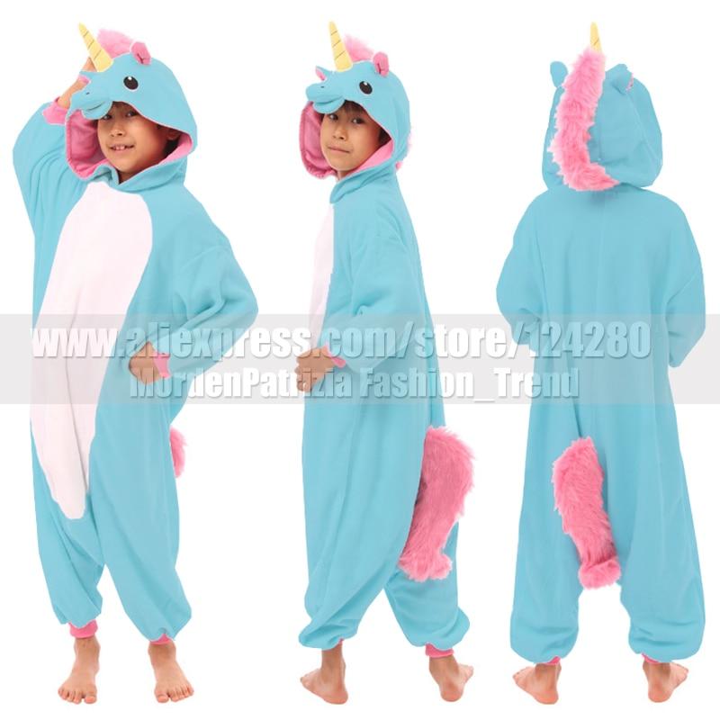 NEW! Kids favorite My little cos Pink Blue Unicorn onesies costume ...