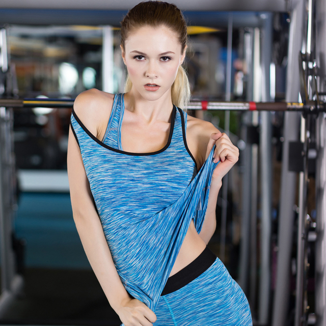 90c6c18038a Hot Sexy Yoga Tops Women Sports Clothing Tights Sleeveless Gym Shirt Quick  Dry Blouse Fitness Running Women s Sportswear Vests