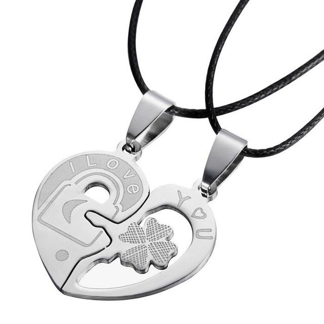 Clover Couple Necklace