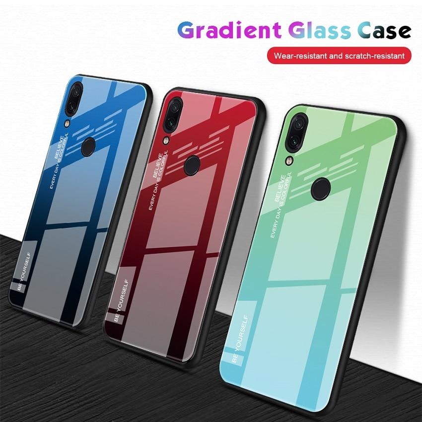 Gradient Phone Case For ASUS Zenfone Max Pro M1 M2 ZB602KL ZB631KL Tempered Glass Cover For ASUS ZB601KL ZB633KL Cases