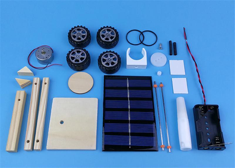 HTB1HM3TflUSMeJjy1zkq6yWmpXat - DIY Hand Assembling solar electrical energy generation  combination driven vehicle car Physics technology gizmo