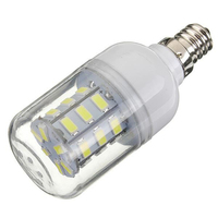 10Pcs Constant Current LED E12 4W 27SMD 5730 LED 85V 265V Corn Lamp Light Wide Voltage Bulb Durable Home Bright