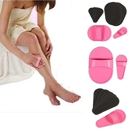 Brush 1 Set Smooth Legs Skin Pad Arm Face Upper Lip Hair Removal  Set Exfoliator Sundepil Wax Women Beauty Pad
