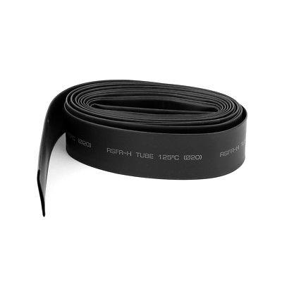 10M 20mm Dia Heat Shrink Shrinkable Tube Cable Wire Wrap Sleeve Tubing Black 13mm dia heat shrinkable tube shrink tubing 10m red