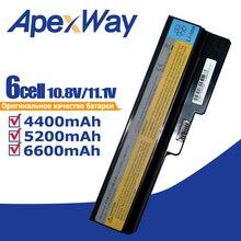 4400mAh лаптоп с Батарея для LENOVO L08L6Y02 a3000 L08S6C02 LO806D01 L08L6C02 L08N6Y02 G430 G450 G455A G530 G550 G555 L08O6C02