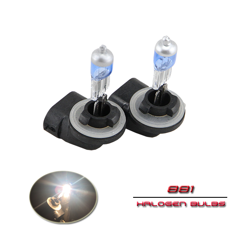 2PCs 881 862 879 886 888 889 894 896 898 H27 PGJ13 12V 27W Blue Glass Globe Halogen Head Light Driving Fog Lamp Bulbs