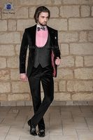 Последние Пальто Пант дизайн итальянский черный серый бархат смокинг Slim Fit мужской костюм 3 предмета Пиджаки для женщин пользовательские же