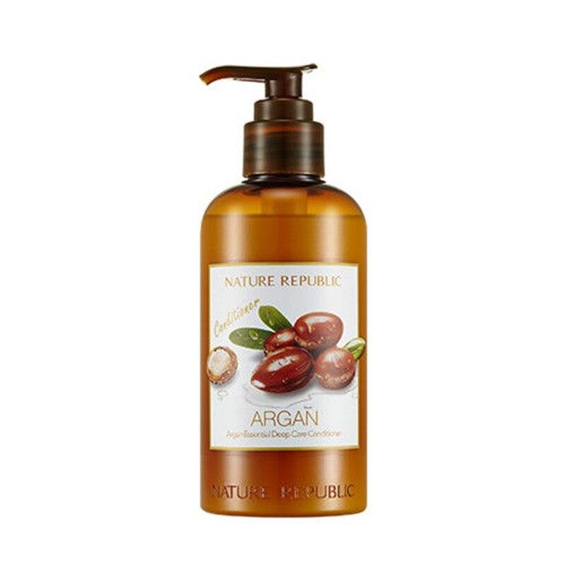 Nature Republic Argan Essential Deep Care Conditioner 300ml Morocco Oil Hair Treatment Mask Repair Damage