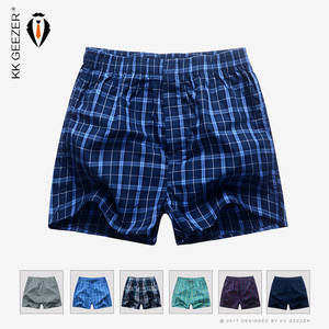 KK GEEZER Underwear Mens Boxers Underpants Cotton Shorts