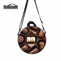Dispalang Chocolate Children Rucksack Round Bag Sweet Girl Shoulder Back Pack Samll Messenger Bags For Kindergarten