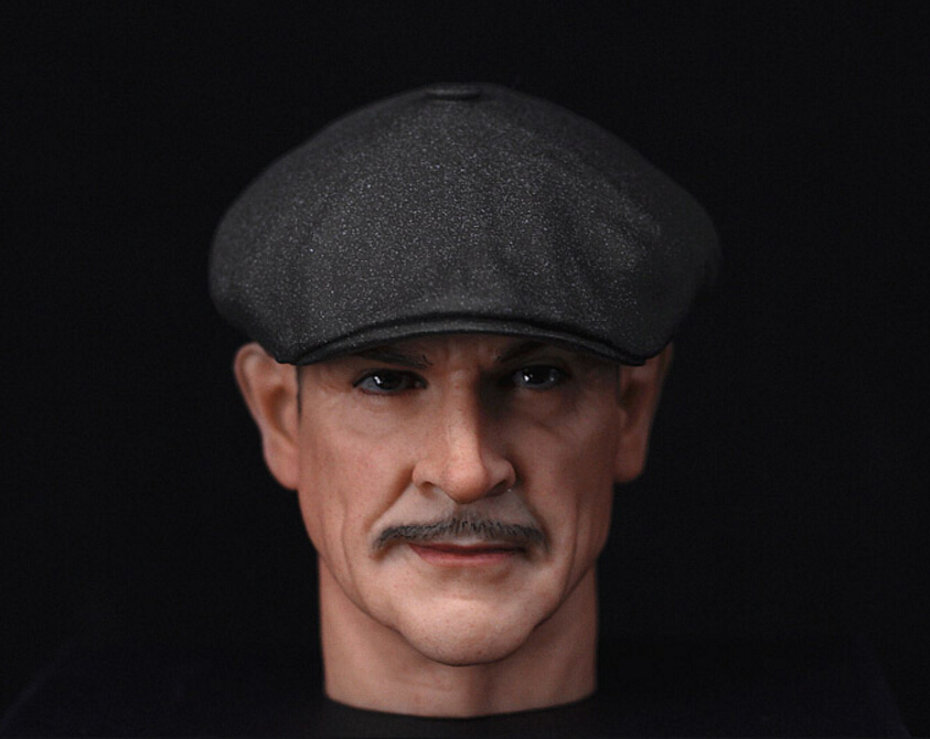 1/6 Scale Sean Connery Headplay Male Head Sculpt The Untouchables W Hat for 12 Action Figure Accessories sean mcfate the modern mercenary
