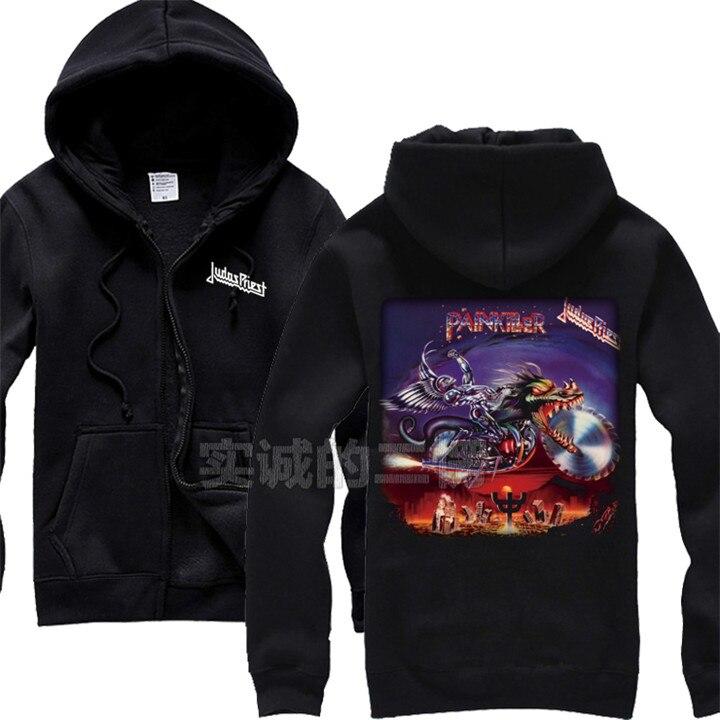 12 видов крутых клинок Judas Priest Rock черная толстовка с капюшоном в виде ракушки куртка Панк Череп Демон металлический свитшот на молнии Sudadera 3d принт - Цвет: 3