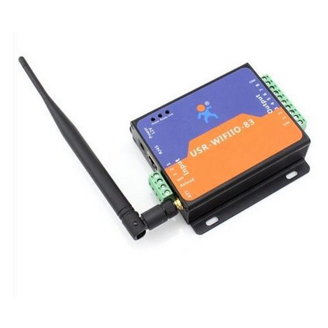 USR WIFIIO 83 Gratis Verzending WIFI Relais Converter Met Rj45 poort/netwerk Lan Stuurrelais PC/Android/IOS Toepassing