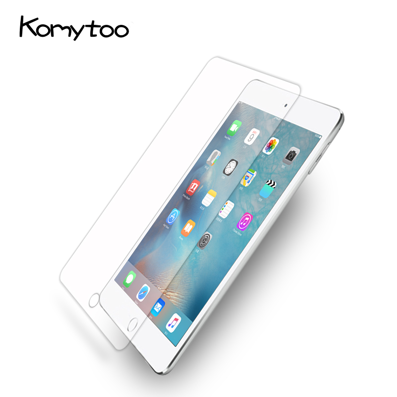 9H Ultra-Thin Full Cover Tempered Glass For 2017 New iPad Screen Protector Glass Film For Ipad  2/3/4 Apple pad Air
