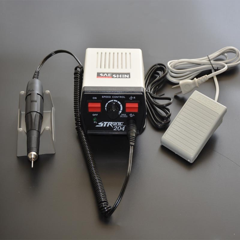 1 Piece South Korea 35000RPM Strong204+102L Micromotor for Dental Laboratory/ Jewelry Polishing/ Jade Carving High Quality цена 2017