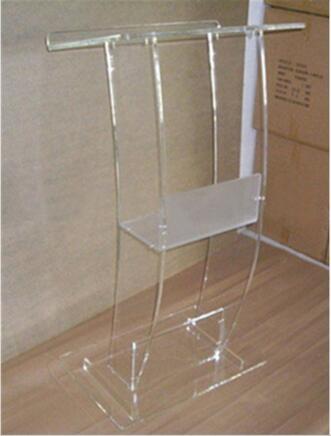 Free Shipping Modern Acrylic Hot Sale Publipt Acrylic Pulpit Podium Acrylic Lectern Podium
