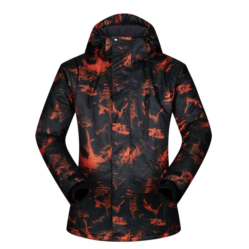 Veste de Ski pour hommes Sports de plein air d'hiver chaud coupe-vent imperméable hommes manteaux de Ski neige thermique snowboard vestes de Ski marques