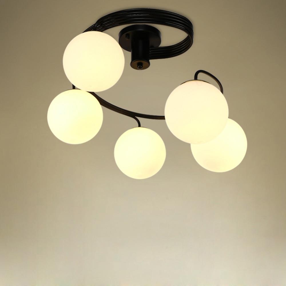 Led Decke Lampe Ac110/220 V Erhältlich Led Decke Lightsfor Hause Esszimmer Wohnzimmer Land Stil Eisen Kunst Kaufen Sie Immer Gut Licht & Beleuchtung